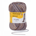 Regia Colour 8 PLY Stripe Knitting Crochet Knit Yarn Craft Wool 150g Ball 8070 Stripe Winter Time
