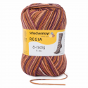 Regia Colour 8 PLY Stripe Knitting Crochet Knit Yarn Craft Wool 150g Ball 8071 Stripe Campfire