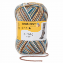 Regia Colour 8 PLY Stripe Knitting Crochet Knit Yarn Craft Wool 150g Ball 8072 Stripe Snowboard