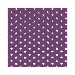 Purple Small 1cm Mini Stars 100% Cotton Fabric 145cm Wide Star