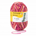 Regia Colour 8 PLY Stripe Knitting Crochet Knit Yarn Craft Wool 150g Ball 8138 Gletscher Confettibrown