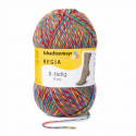Regia Colour 8 PLY Stripe Knitting Crochet Knit Yarn Craft Wool 150g Ball 8992 Stockholm Sandhamn