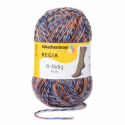 Regia Colour 8 PLY Stripe Knitting Crochet Knit Yarn Craft Wool 150g Ball 8993 Stockholm Vaxholm