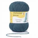 Regia Cotton Denim 4 PLY Knitting Crochet Knit Yarn Craft Wool 100g Ball 2866 Petrol
