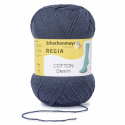 Regia Cotton Denim 4 PLY Knitting Crochet Knit Yarn Craft Wool 100g Ball 2868 Navy