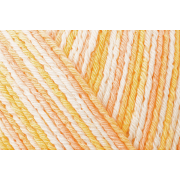 Regia Cotton Tutti Fruitti 4 PLY Knitting Crochet Knit Yarn Craft Wool 100g Ball 2416 Orange