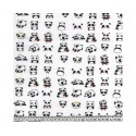 Pandas 100% Digital Cotton Fabric Little Johnny Range 145cm Wide
