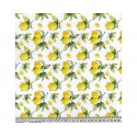 Lemons 100% Digital Cotton Fabric Little Johnny Range 145cm Wide
