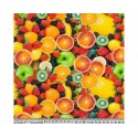 Fruits 100% Digital Cotton Fabric Little Johnny Range 145cm Wide