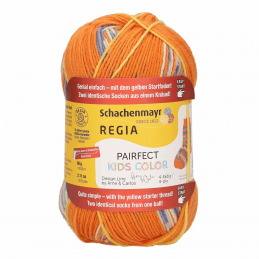 Regia Arne & Carlos Kids Pairfect Socks 4 PLY  Knitting Yarn Craft 60g Ball 2990 Ole