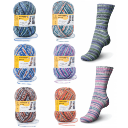 Regia Arne & Carlos Kids Pairfect Socks 4 PLY Knitting Yarn Craft 150g Ball