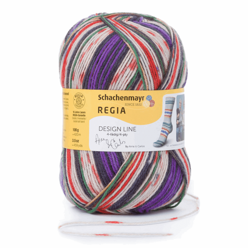 Regia Arne & Carlos Kids Pairfect Socks 4 PLY Knitting Yarn Craft 100g Ball 2459 Siljan