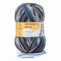 Regia Arne & Carlos Kids Pairfect Socks 4 PLY Knitting Yarn Craft 100g Ball 2460 Bamble