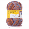 Regia Arne & Carlos Kids Pairfect Socks 4 PLY Knitting Yarn Craft 100g Ball 3770 Kaffe Fassett Autumn