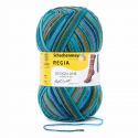 Regia Arne & Carlos Kids Pairfect Socks 4 PLY Knitting Yarn Craft 100g Ball 3773 Kaffe Fassett Jewel