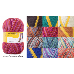 Regia Arne & Carlos Pairfect Socks 4 PLY Knitting Yarn Craft 100g Ball