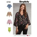 Simplicity 8789 Misses' Bodysuit Sewing Patterns
