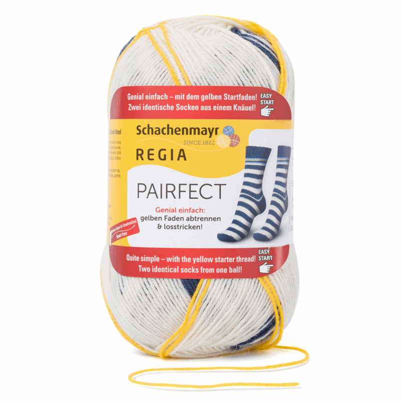 Regia Pairfect Editions 1 2 3 & 4 Socks 4 PLY Knitting Yarn Craft 100g Ball 1341 Edition 3 Reugen
