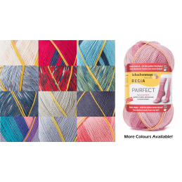 Regia Pairfect Editions 1 2 3 & 4 Socks 4 PLY Knitting Yarn Craft 100g Ball