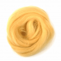 10g 100% Natural Wool Roving Needle Spinning Felting Sewing Craft Fabric Trimits 302 Yellow