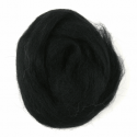 10g 100% Natural Wool Roving Needle Spinning Felting Sewing Craft Fabric Trimits 303 Black