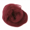 10g 100% Natural Wool Roving Needle Spinning Felting Sewing Craft Fabric Trimits 304 Wine