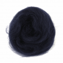 10g 100% Natural Wool Roving Needle Spinning Felting Sewing Craft Fabric Trimits 308 Navy