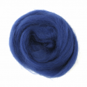 10g 100% Natural Wool Roving Needle Spinning Felting Sewing Craft Fabric Trimits 314 Sapphire