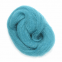 10g 100% Natural Wool Roving Needle Spinning Felting Sewing Craft Fabric Trimits 315 Turquoise