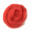 10g 100% Natural Wool Roving Needle Spinning Felting Sewing Craft Fabric Trimits 317 Red