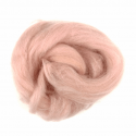 10g 100% Natural Wool Roving Needle Spinning Felting Sewing Craft Fabric Trimits 323 Powder Pink