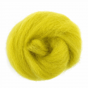 10g 100% Natural Wool Roving Needle Spinning Felting Sewing Craft Fabric Trimits 338 Neon Green