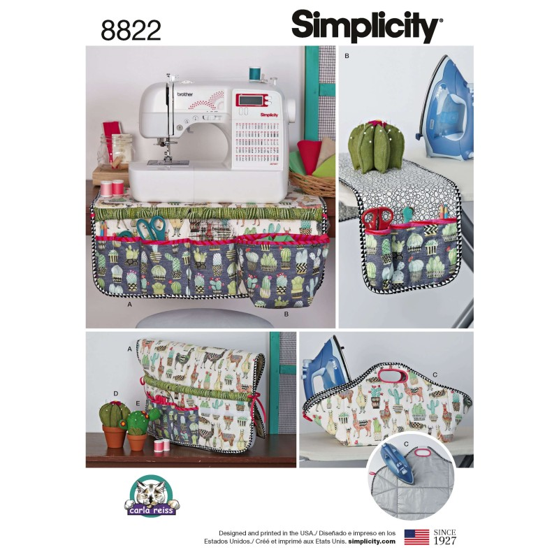 Simplicity Pattern 8822 Sewing Accessories Cactus Pin Cushion Sewing Patterns