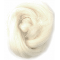Assorted Browns Natural Wool Roving 50gm Craft Sewing Spinning Fabric 301 White