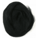 Assorted Browns Natural Wool Roving 50gm Craft Sewing Spinning Fabric 303 Black