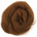 Assorted Browns Natural Wool Roving 50gm Craft Sewing Spinning Fabric 321 Coffee