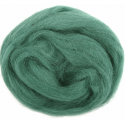 Assorted Browns Natural Wool Roving 50gm Craft Sewing Spinning Fabric 328 Grass Green