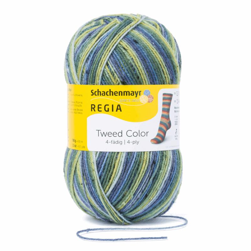 Regia Tweed Colour Socks 4 PLY Knitting Yarn Knit Wool Craft 100g Ball 7497 Fruhling