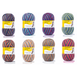 Regia Tweed Colour Socks 4 PLY Knitting Yarn Knit Wool Craft 100g Ball