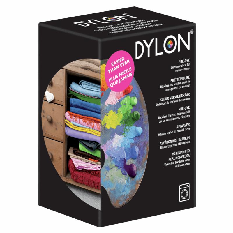 Dylon Machine Fabric & Clothes Dye Pod Powder Wash 350g Pre Dye