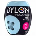 Dylon Machine Fabric & Clothes Dye Pod Powder Wash 350g 06 Vintage Blue