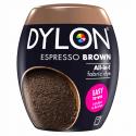 Dylon Machine Fabric & Clothes Dye Pod Powder Wash 350g Pre Dye 11 Espresso Brown