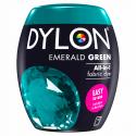 Dylon Machine Fabric & Clothes Dye Pod Powder Wash 350g 04 Emerald Green