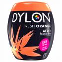 Dylon Machine Fabric & Clothes Dye Pod Powder Wash 350g 55 Fresh Orange