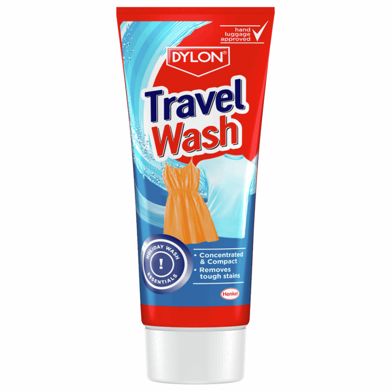 Dylon Travel Wash Concentrated Compact Clothes Holiday Wash 75ml