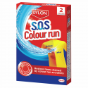 Dylon Colour Catcher & SOS Colour Run Washing Laundry Repair SOS Colour Run Pack Of 2