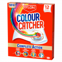 Dylon Colour Catcher & SOS Colour Run Washing Laundry Repair Colour Catcher Pack Of 12