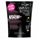 Dylon Wash & Dye Fabric Powder Reviving Faded Colours 350g Chocolate