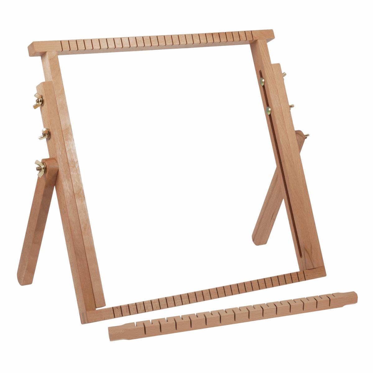 Extendable Weaving Loom Beech Wood Craft Weave Textiles