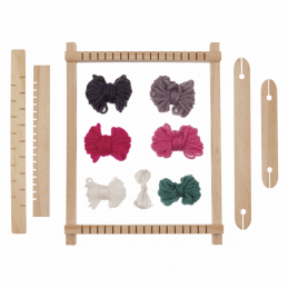 Trimits My First Weaving Loom Kit & Yarn Craft Textiles Hand Weave